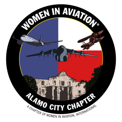 Women in Aviation Alamo City Chapter Logo